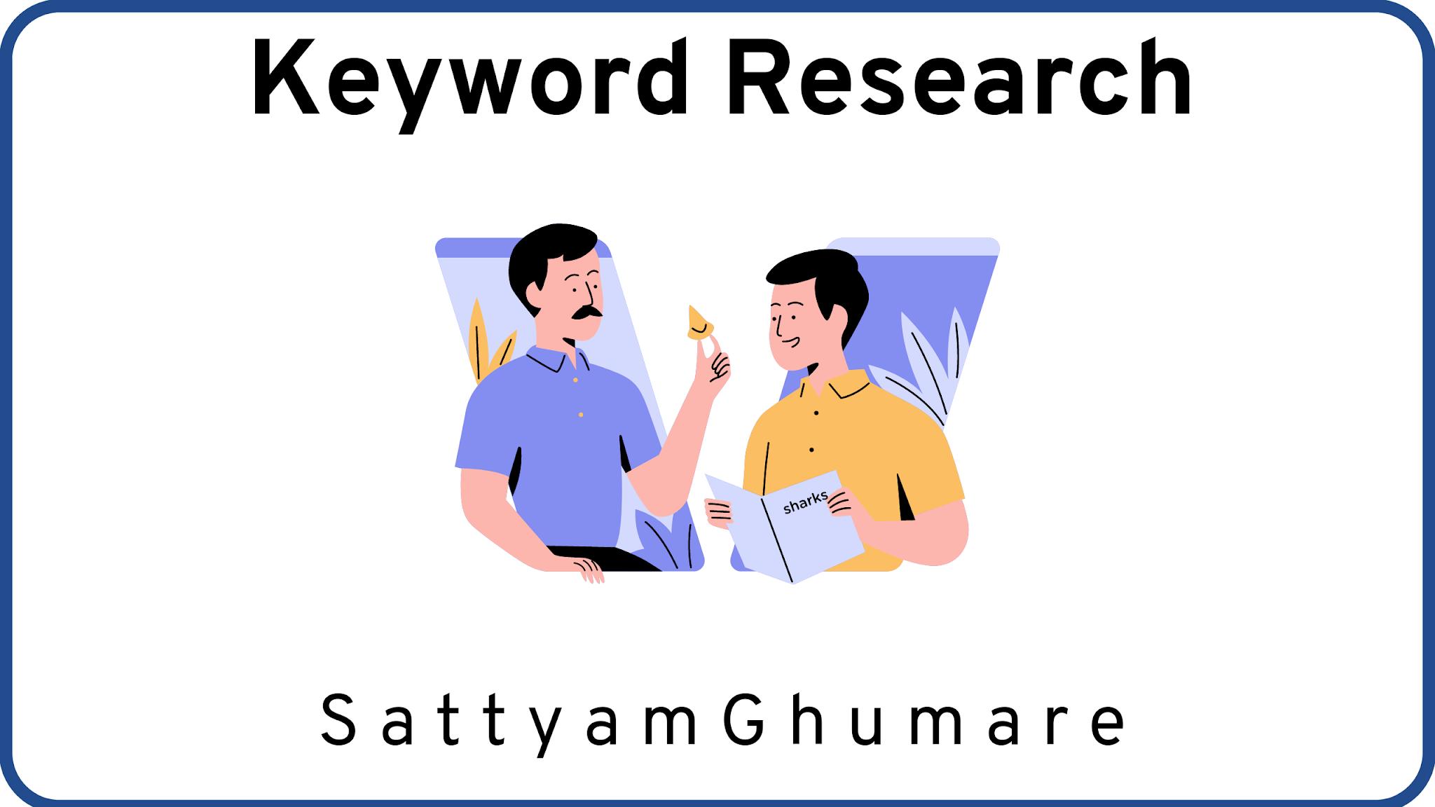 Keywords Research