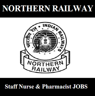 Railway Recruitment Cell, RRC, Northern Railway, NR, Uttar Pradesh, UP, Indian Railway, RAILWAY, Railway, 12th, Staff Nurse, Pharmacist, freejobalert, Sarkari Naukri, Latest Jobs, northern railway logo