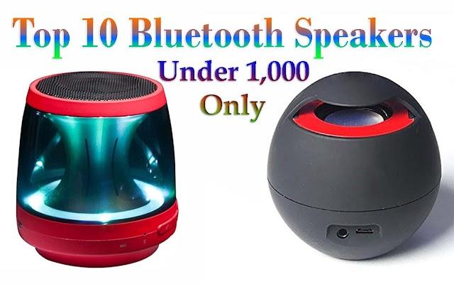 Top 10 Bluetooth Speakers: best portable speakers in india