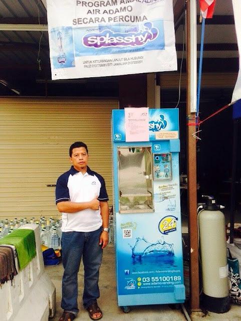Vending Machine air Bertapis