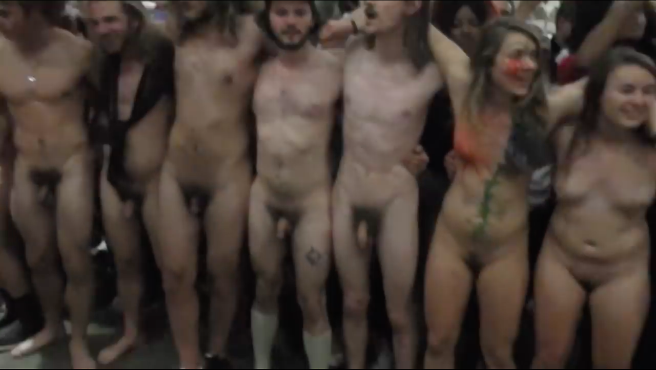 University Student Naked Mile