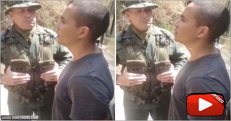 Supuesto mercenario capturado por el régimen dejó en ridículo a una rata verde del ejército