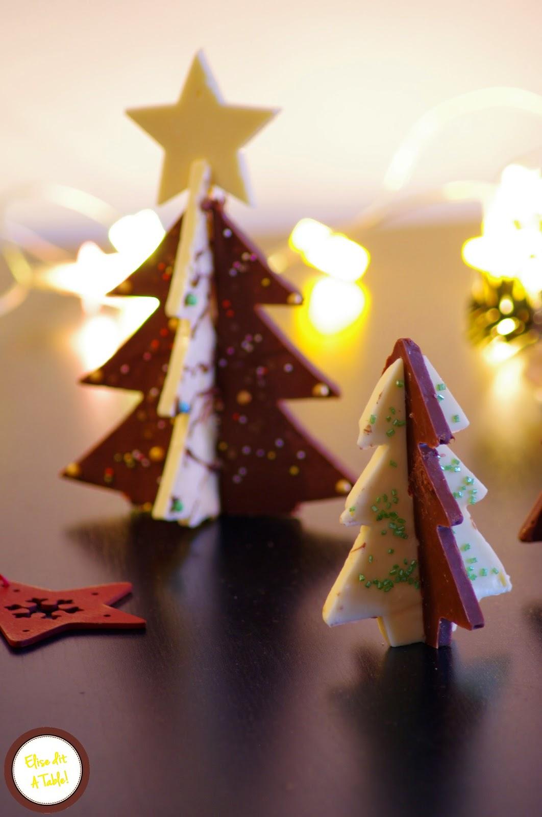 Recette De Sapin En Chocolat Pour Decoration De Gateau