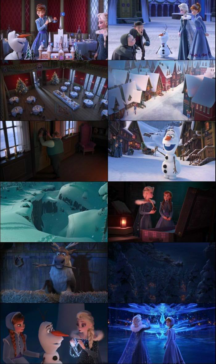 Olafs Frozen Adventure 2017 English