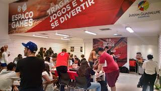 Espaço Games no Shopping Jardim Guadalupe
