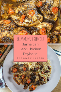 jamiacan jerk chicken traybake