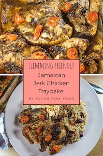 jamiacan jerk chicken traybake