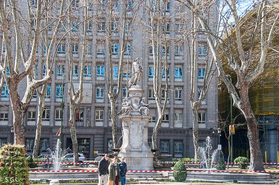 Fuente de Apolo. Ruta lowcost por Madrid