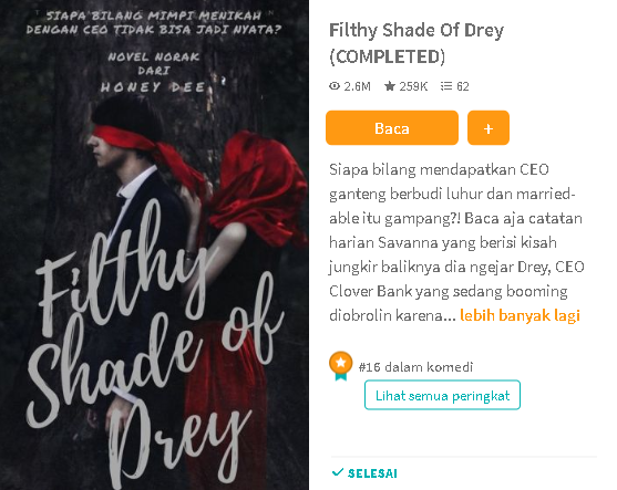 Filthy Shade of Drey