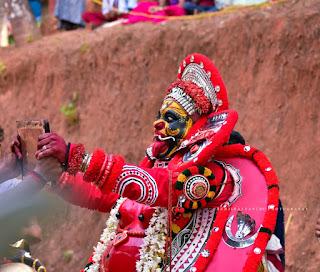 Bhadrakali Theyyam Images