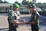 Dandim Boyolali Beri Penghargaan Kepada Prajuritnya Yang MPP
