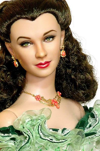 Muñeca o figura de acción con increíble parecido Vivian Leigh