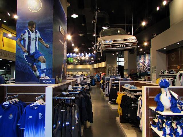 Loja do Museu do FC Porto