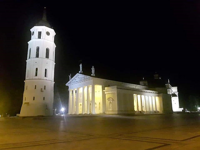 La Cattedrale di Vilnius - foto di Piero Piliego