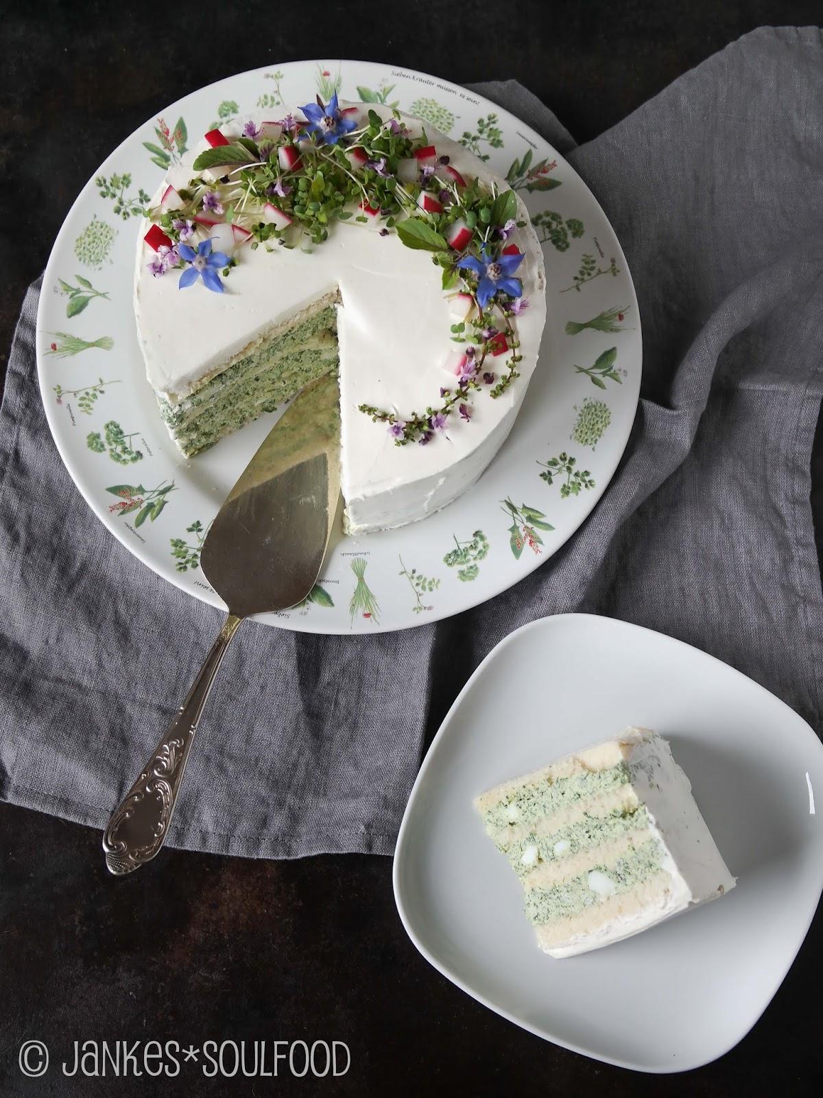 herzhafte Frischkäse-Torte