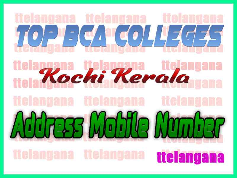 Top BCA Colleges in Kochi Kerala