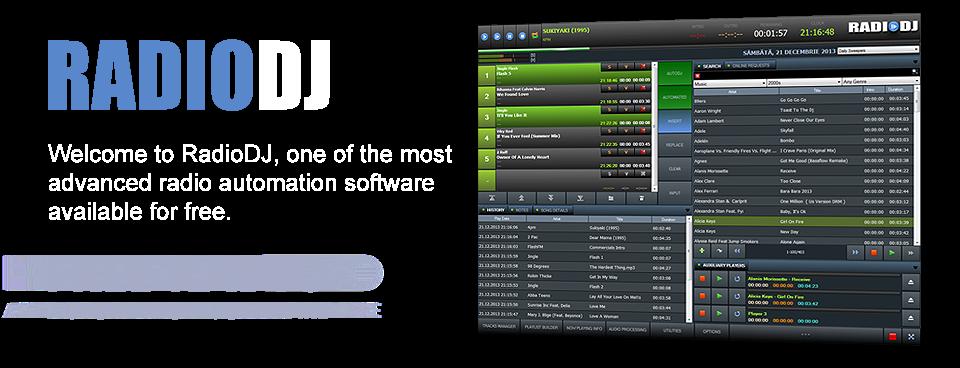 radio dj free radio automation music software