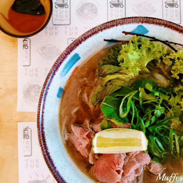 Tuk Tuk, Cocina Asiática - Sopa Pho Bó