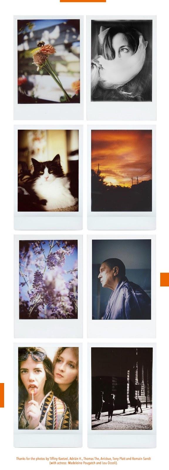 Примеры фотографий, сделанных на Rolleiflex Instant Kamera