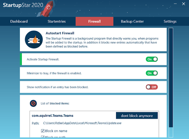 Screenshot Abelssoft StartupStar 2020 v12.05.30 Full Version