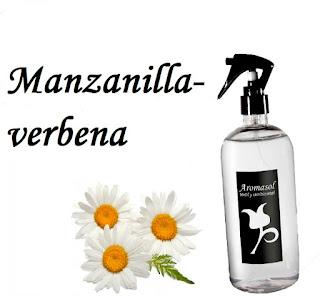 Perfume para la ropa Manzanilla y verbena