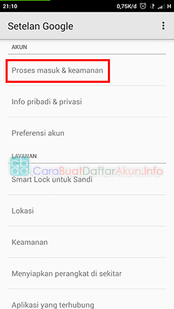 cara mengetahui password gmail di hp android