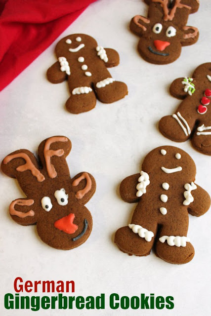 Gingerbread cookies are a Christmas must have! These one have a nice buttery cookie base and all of the spices are likely to already be in your spice cabinet. They will make converts of those who don't think they like these spicy little fellas!