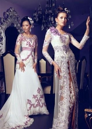 gambar baju kebaya pengantin
