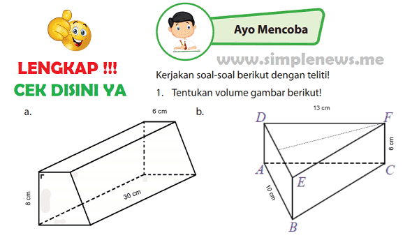 Lengkap Kunci Jawaban Halaman 136 Buku Senang Belajar Matematika Kelas 6 Kunci Jawaban Lengkap Dan Terbaru Simplenews