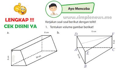Kunci Jawaban Buku Senang Belajar Matematika Kelas 6 Halaman 136 www.simplenews.me