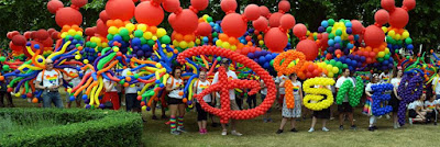 Disney London Pride - balloons by Stuart Davies, CBA