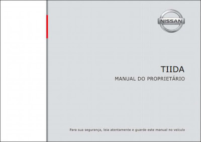 Manual do proprietário Nissan Tiida