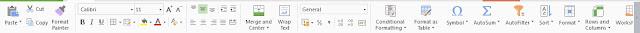 Macam-macam Fungsi dan Menu ikon dari Microsoft excel 2007