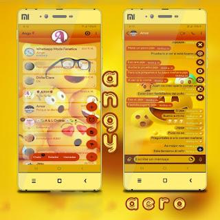 Emoji Theme For YOWhatsApp & Aero WhatsApp By Ave fénix