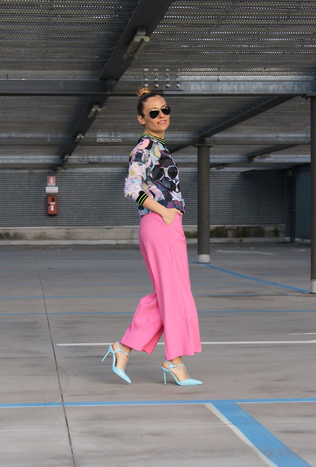 Eniwhere Fashion - Zara pink pants