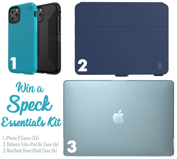Win a bundle of products from Speck