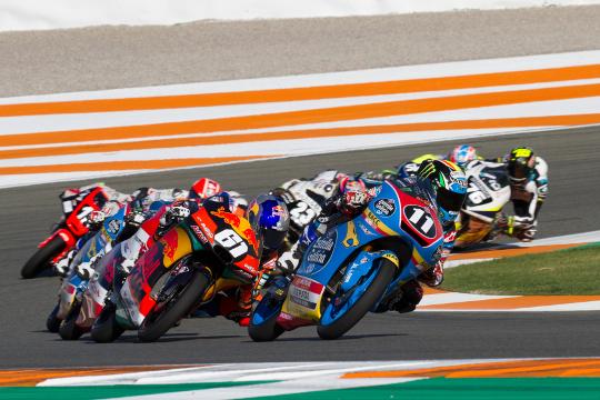El Circuit Ricardo Tormo celebra este fin de semana la segunda cita del mundial junior de Moto3