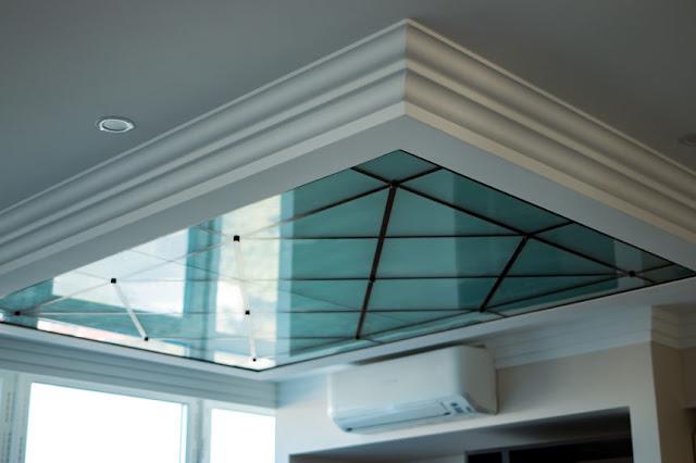 glass ceiling made