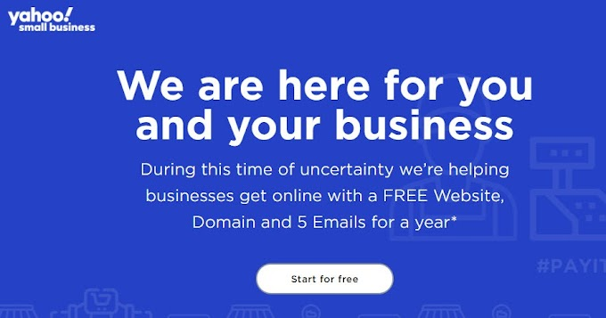 THE COMPLETE GUIDE : GET YOUR (.COM .ORG .NET .US .BIZ) DOMAIN FREE FOR 1 YEAR FROM YAHOO! IN 2020