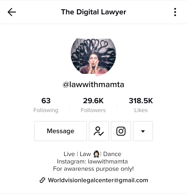 The Digital Lawyer - Law with Mamta