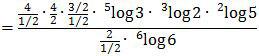 Mengubah bentuk logaritma berpangkat