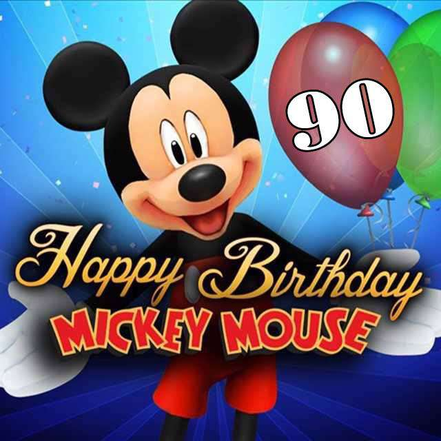 Mickey Mouse's Birthday Wishes For Facebook