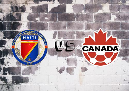 Haití vs Canadá  Resumen