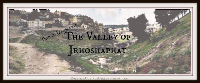 Kidron Valley Israel