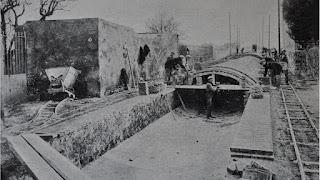 Cobertura del pluvial de Riera de la Creu (1928)