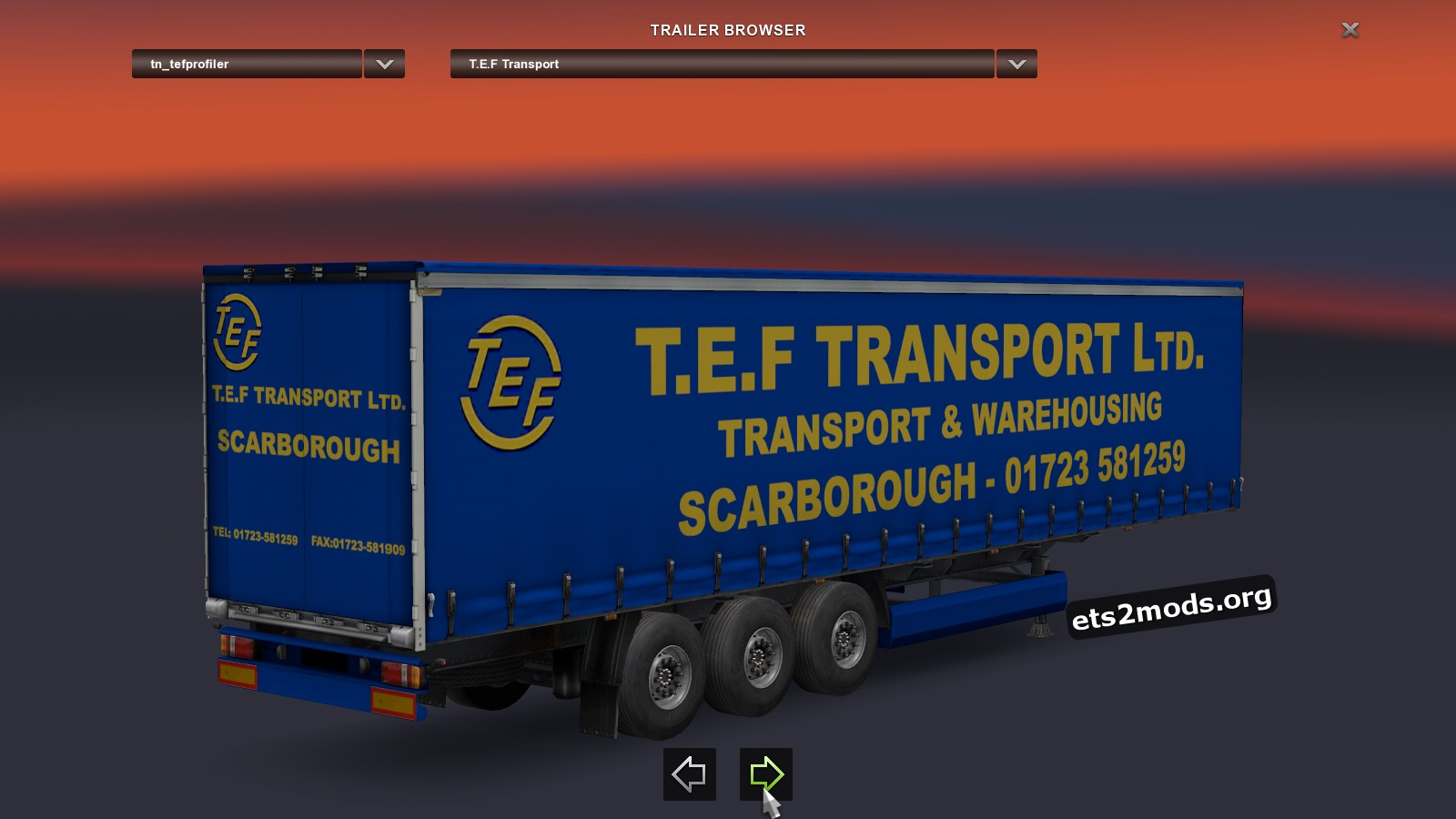 Combo Pack T.E.F Transport