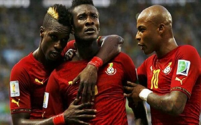 Ghana among top seeds for 2018 World Cup draw