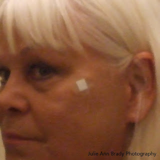 Walgreens Clear Spot Bandage on Face