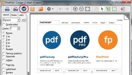 تحميل برنامج pdfFactory Pro لإنشاء ملفات PDF مباشرة من أي مستندات