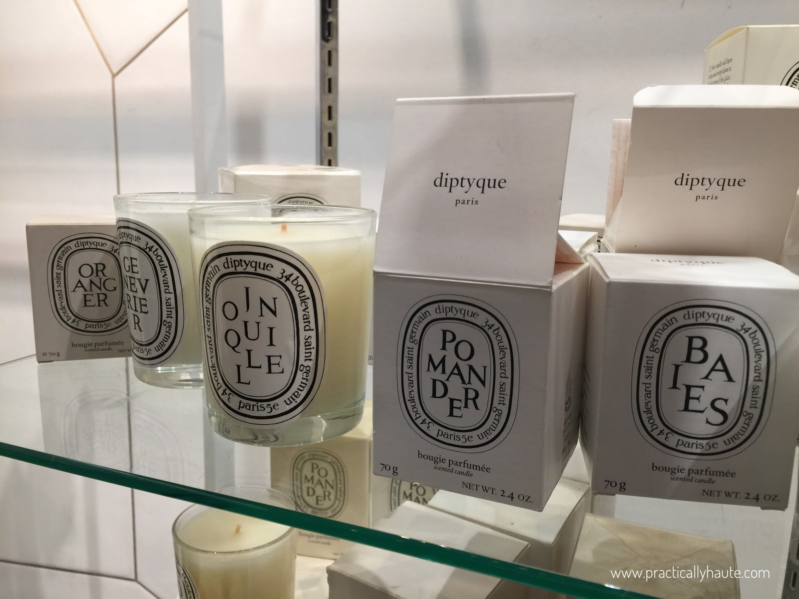 Diptyque sample sale Pomander candles